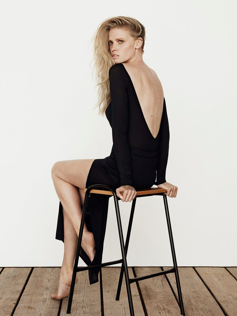 Photo Lara Stone for The Edit by Net A Porter July 2014