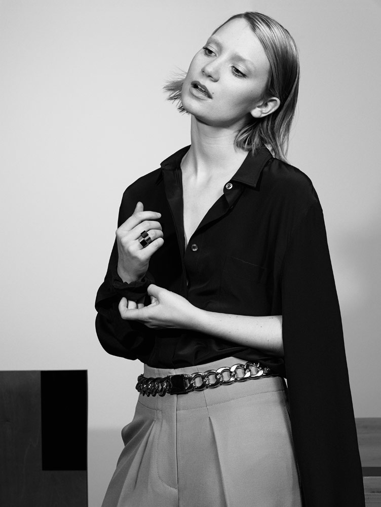 Photo Mia Wasikowska for Interview Magazine August 2014