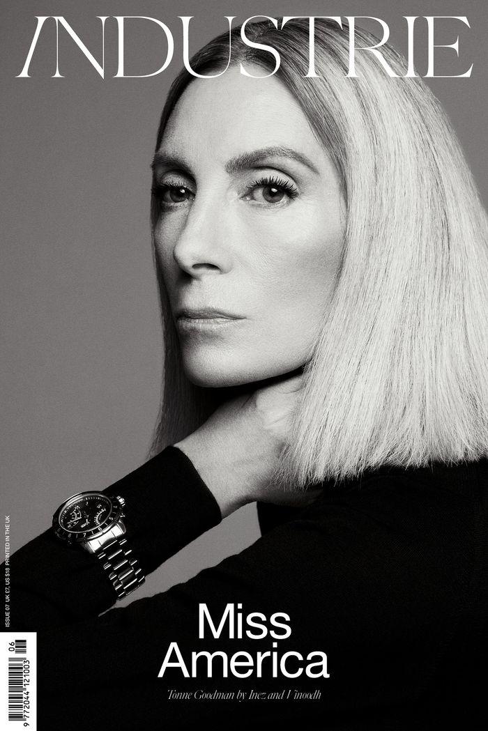 Photo Tonne Goodman by Inez & Vinoodh for Industrie Issue 7