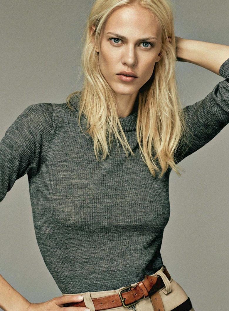 Photo Aymeline Valade by Damon Baker for S Moda August 2014