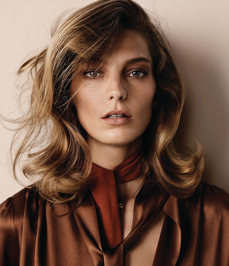 Photo Daria Werbowy by Josh Olins for WSJ September 2014