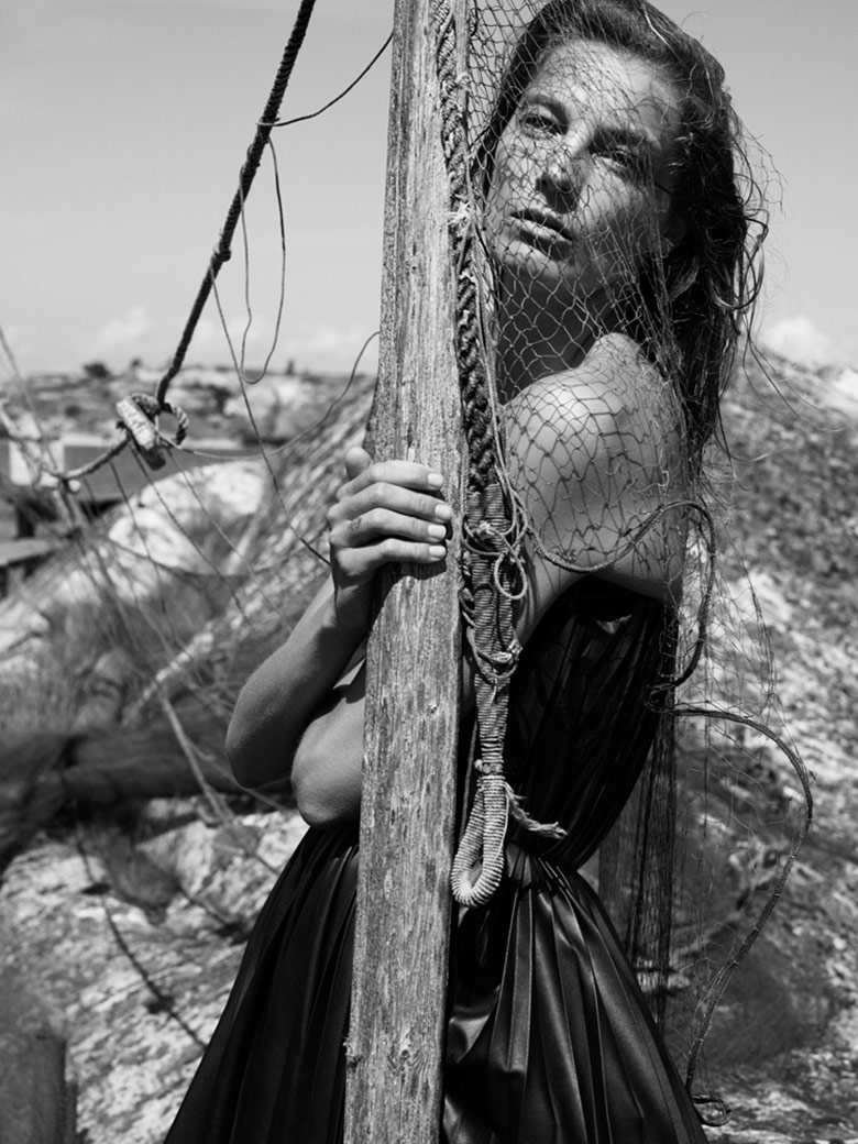 Photo Daria Werbowy by Mikael Jansson for Interview September 2014