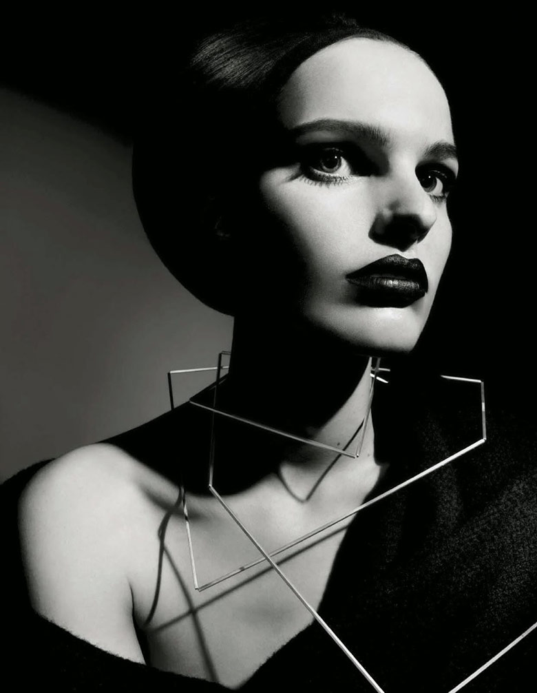 Photo 'Beauty' by Emma Summerton for Vogue Italia August 2014