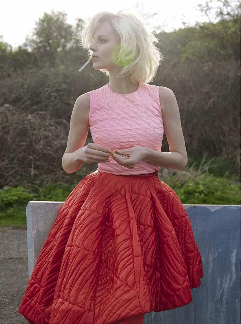 Photo Eva Herzigova By Yelena Yemchuk For Vogue Italia August 2014