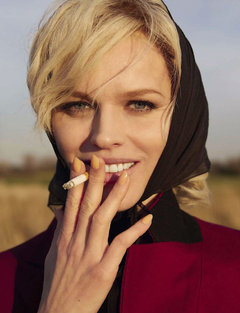 Photo Eva Herzigova By Yelena Yemchuk For Vogue Italia August 2014