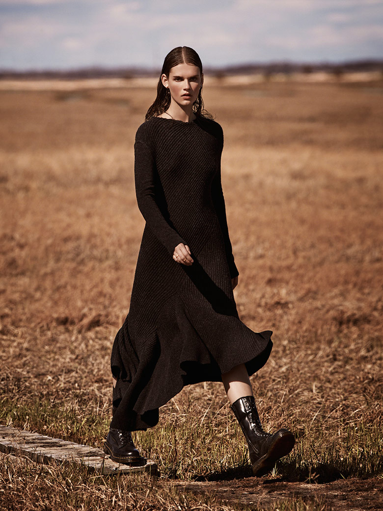 Photo Giedre Dukauskaite by James Macari for Marie Claire UK September 2014