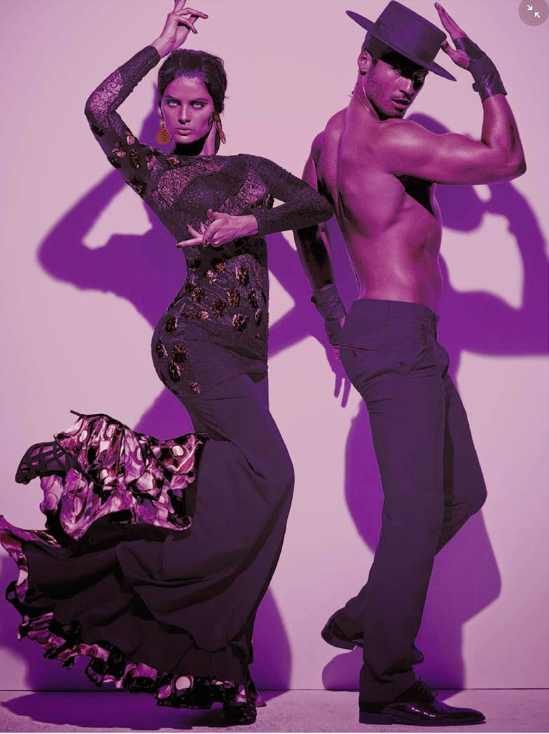 Photo Isabeli Fontana by Steven Meisel for Vogue Italia August 2014