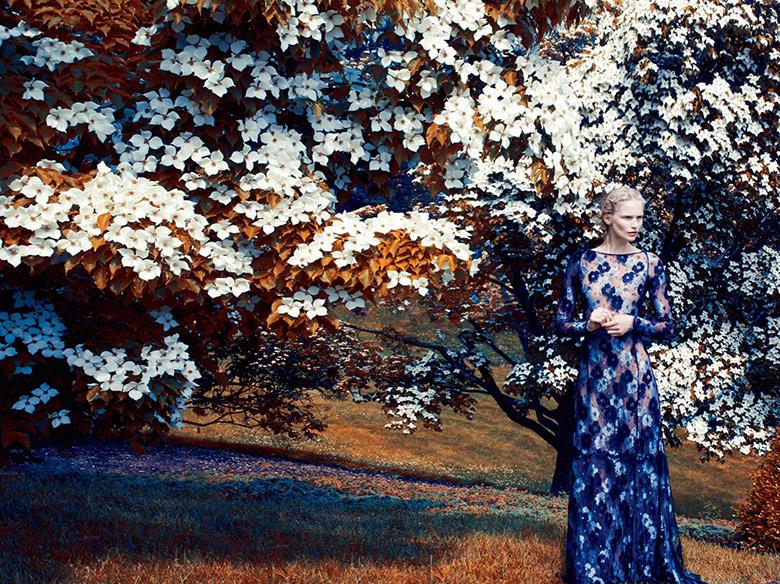 Katrin Thormann for Harpers Bazaar UK September 2014