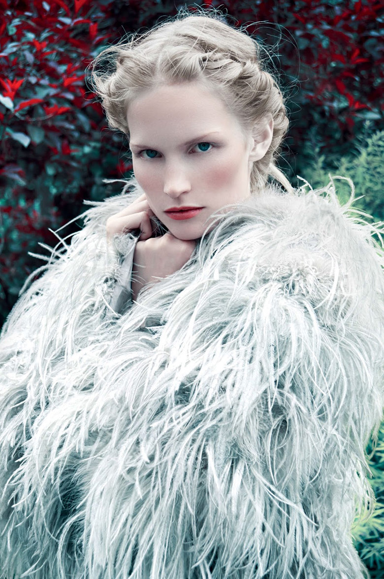 Katrin Thormann for Harpers Bazaar UK September 2014