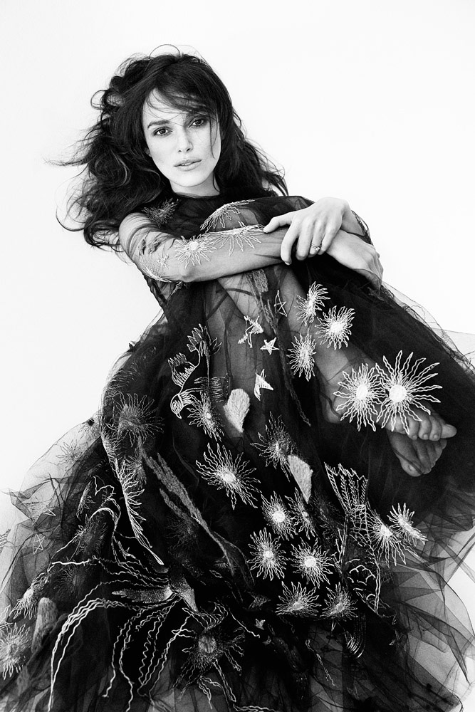 Photo Keira Knightley by Patrick Demarchelier for Interview Magazine September 2014