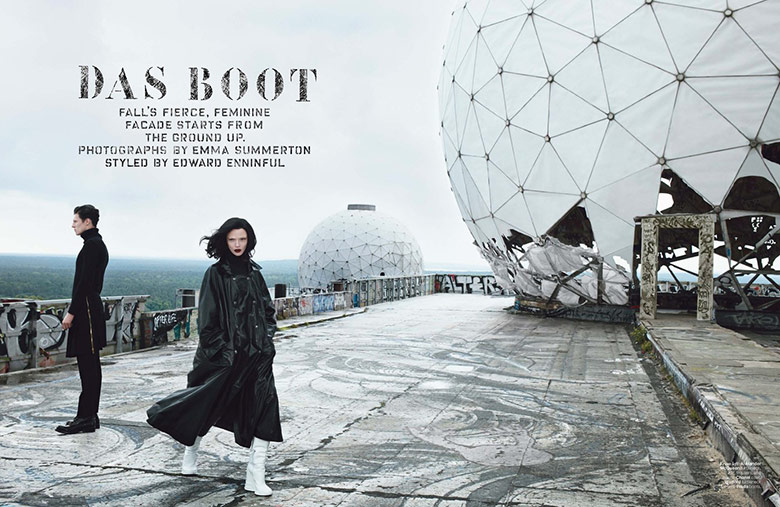 Photo Mariacarla Boscono & Tim Schuhmacher for W Magazine September 2014