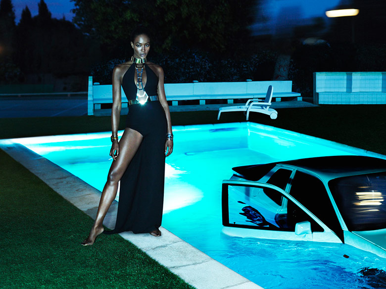 Photo Naomi Campbell by Mert & Marcus for Interview Magazine September 2014
