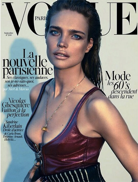 Photo Natalia Vodianova by Mert & Marcus for Vogue Paris September 2014