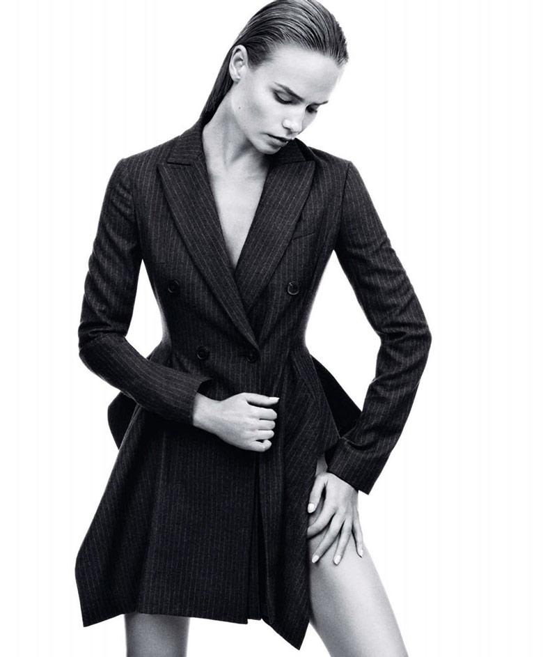 Photo Natasha Poly by Daniel Jackson for Harper's Bazaar US September 2014