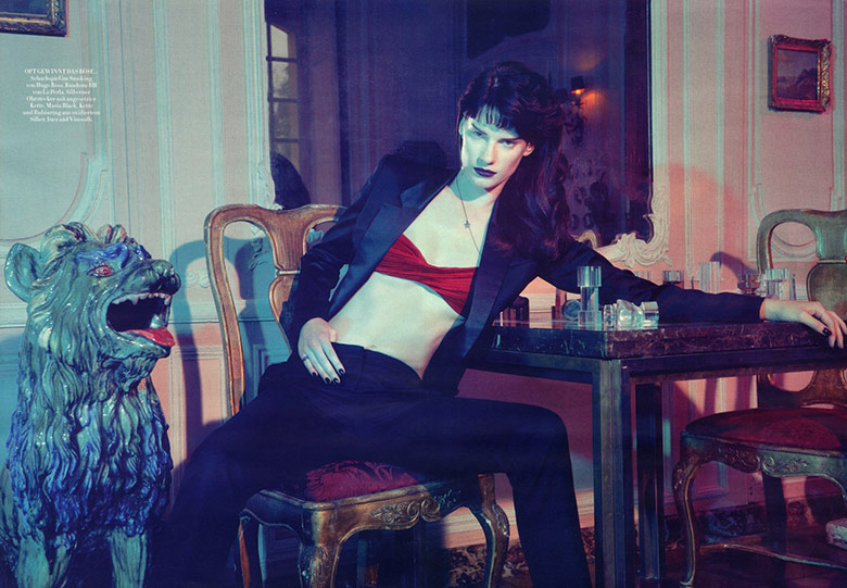 Photo Querelle Jansen for Harpers Bazaar Germany August 2014