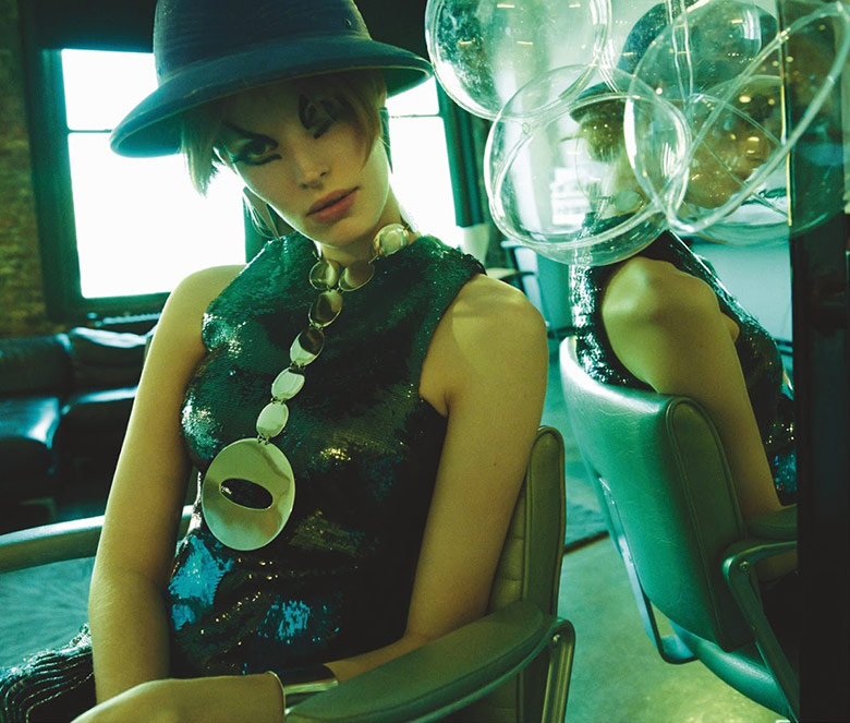 Photo Alisa Ahmann by Greg Kadel for Numero September 2014