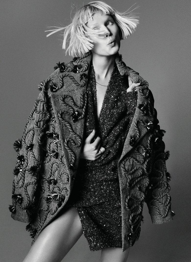 Photo Toni Garrn by Nagi Sakai for Harper's Bazaar Germany September 2014