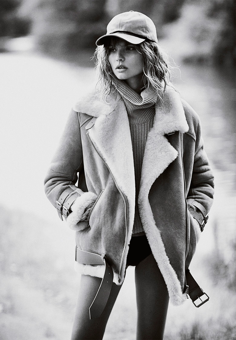 Photo Magdalena Frackowiak by Emma Tempest for Mixt(e) Fall/Winter 14/15