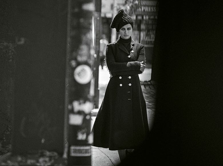 Photo Adriana Lima by Peter Lindbergh for M Le Monde September 2014