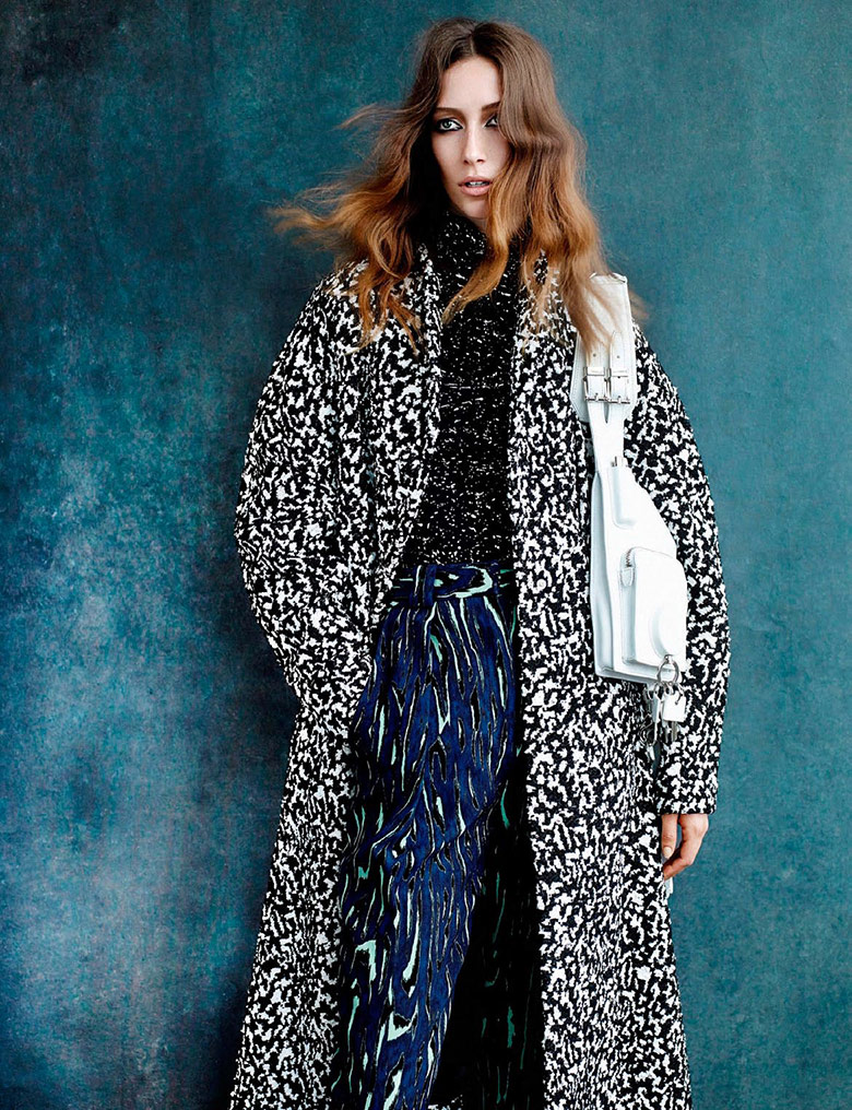 Photo Alana Zimmer by Alique for Vogue Netherlands October 2014