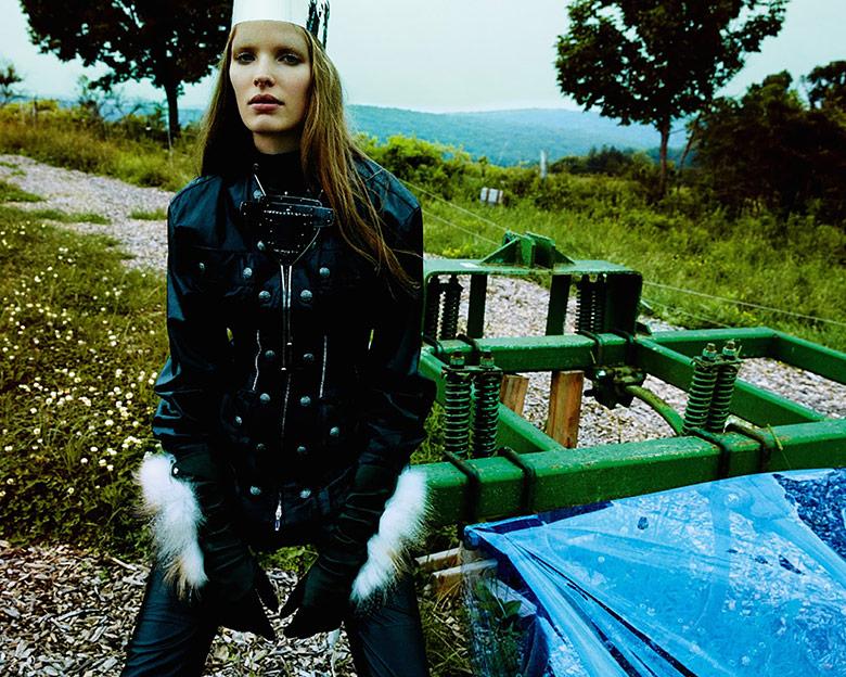 Photo Alisa Ahmann by Greg Kadel for Numero October 2014