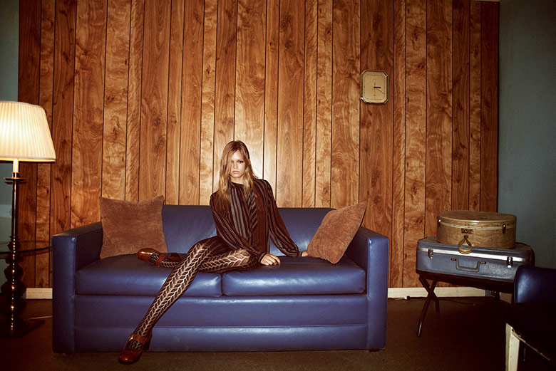 Photo Anna Ewers by Glen Luchford