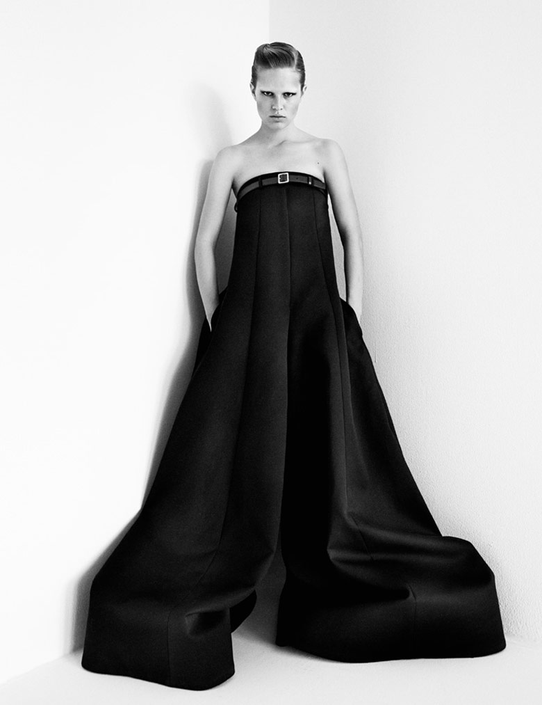Photo Anna Ewers by Patrick Demarchelier for Interview September 2014
