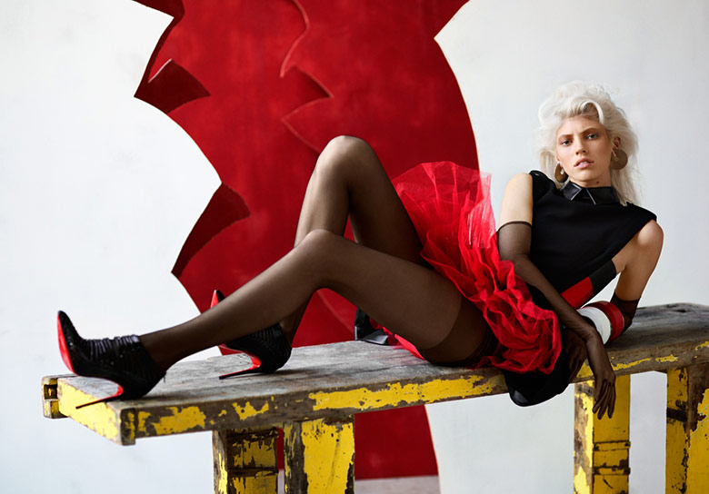 Photo Devon Windsor by Patrik Sehlstedt for Stylist France September 2014