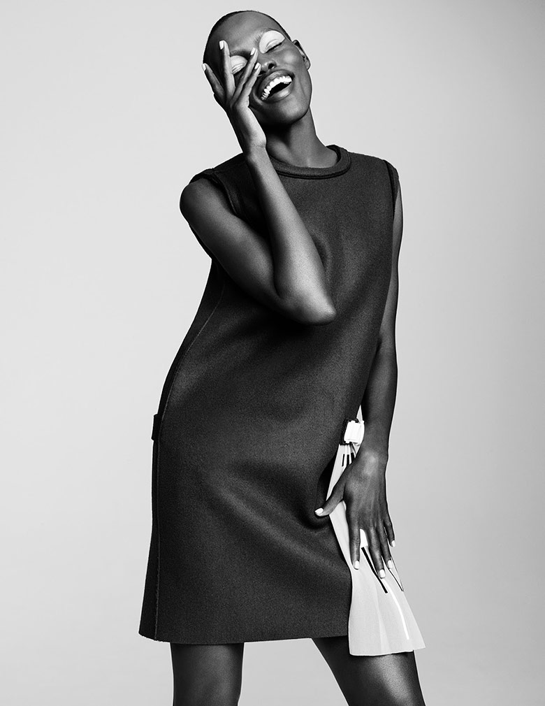 Photo Grace Bol by Simon Burstall for Hunger 7