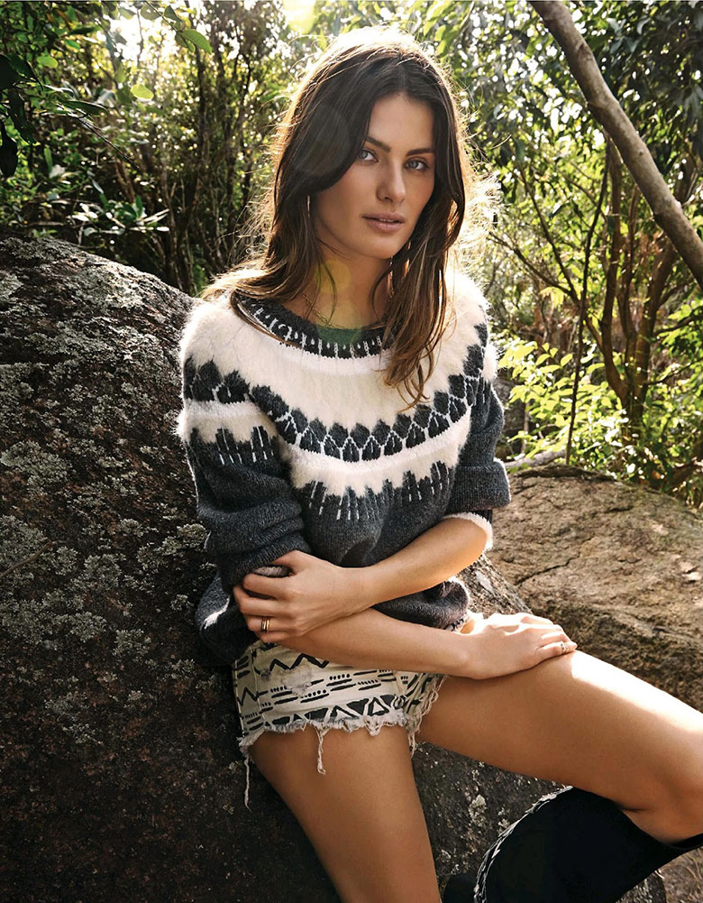 Photo Isabeli Fontana by Sonia Sieff for The Telegraph September 2014
