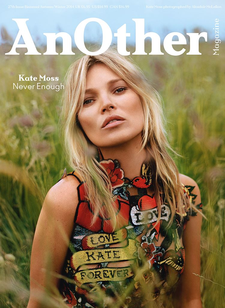 Photo Kate Moss for Another Magazine Fall/Winter 2014/2015