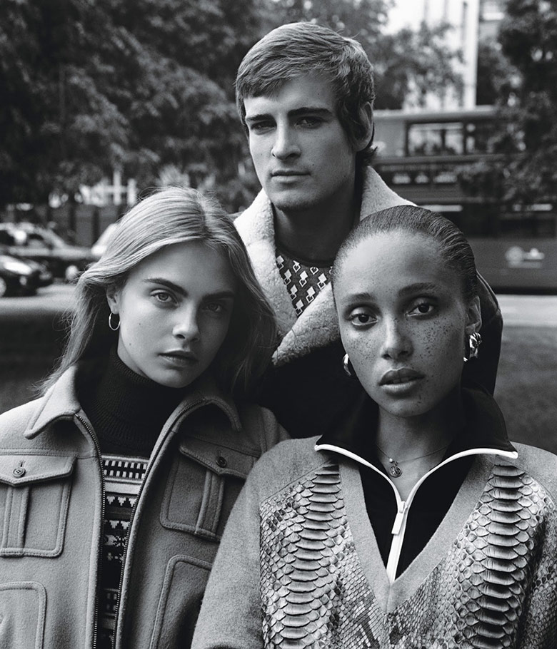 Photo 'Ladies Of London' by Alasdair Mclellan for W Magazine October 2014