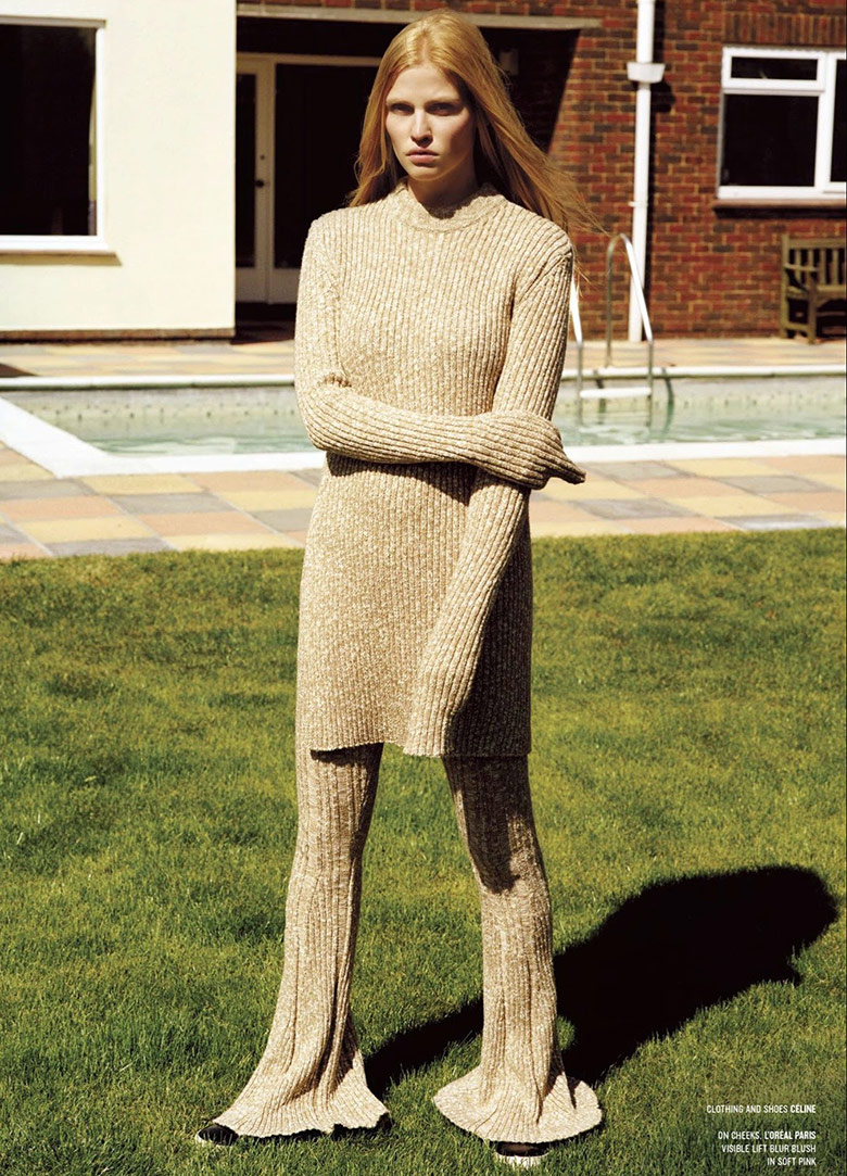 Photo Lara Stone by Alasdair McLellan for V Magazine Fall 2014