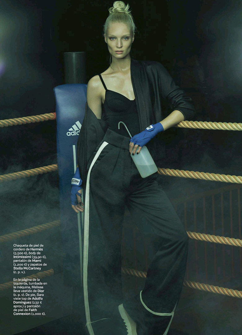 Photo Melissa Tammerijn by Jonas Bresnan for S Moda El Pais September 2014