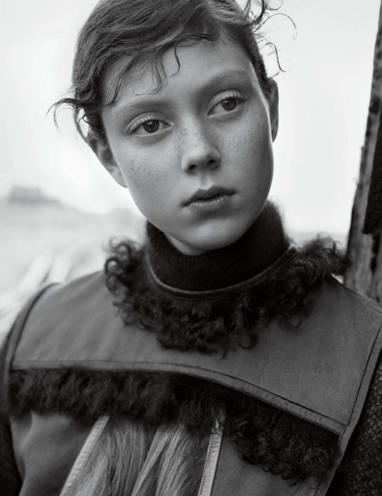 Photo Natalie Westling by Karim Sadli for Vogue UK October 2014