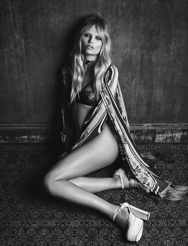 Photo Natasha Poly by Luigi & Iango for Vogue Germany October 2014