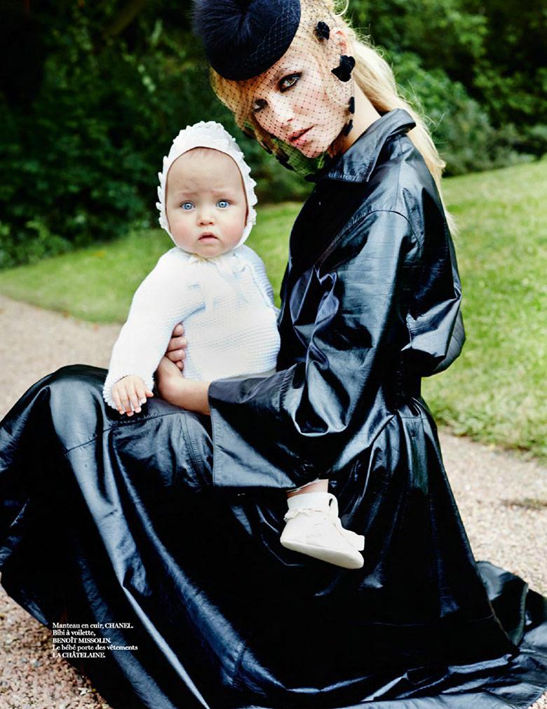 Photo Natasha Poly by Mario Testino for Vogue Paris October 2014