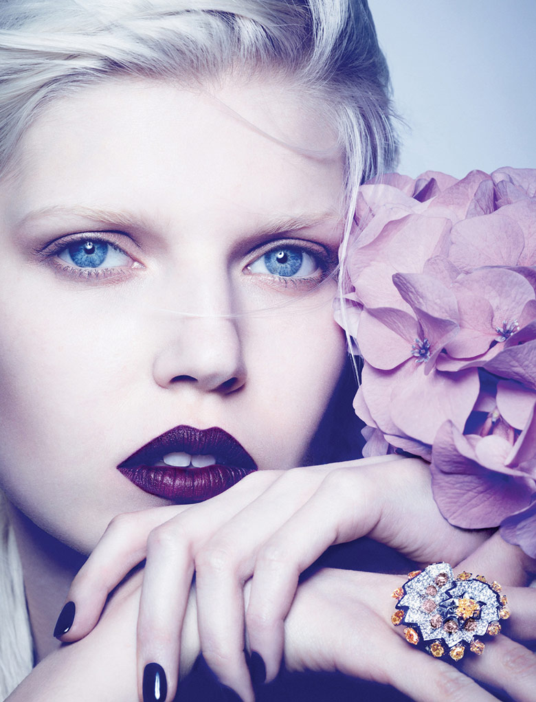 Photo Ola Rudnicka by Ben Hassett for Dior Magazine Autumn 2014