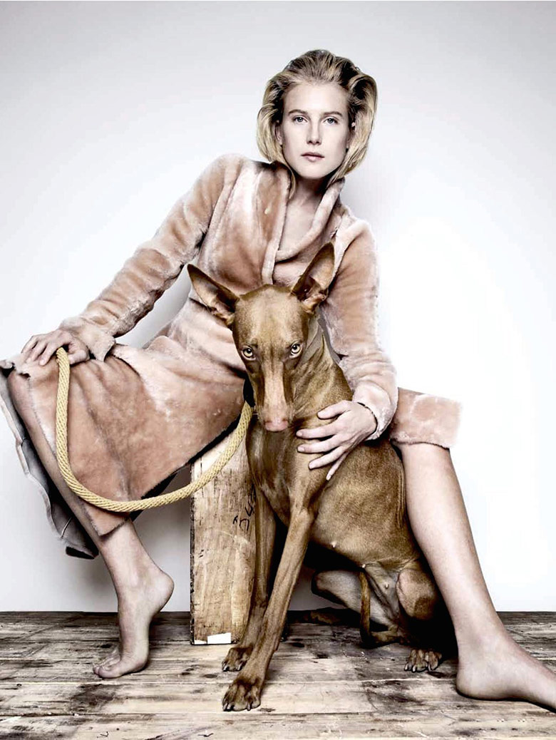 Photo Deep Breeding by Platon for  Garage Fall Winter 2014