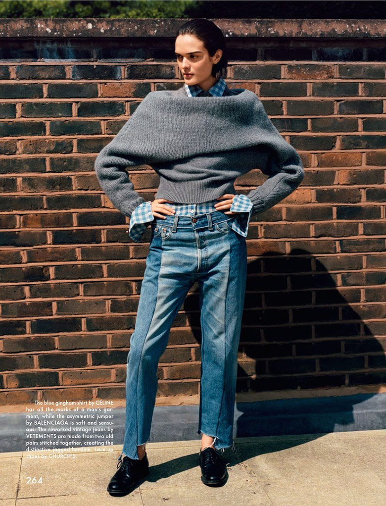 Photo Sam Rollinson by Alasdair McLellan for The Gentlewoman Magazine F/W 2014