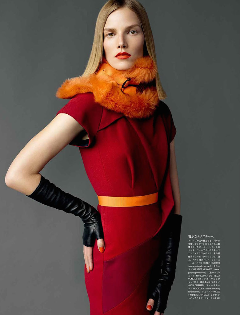 Photo Suvi Koponen by Mario Testino for Vogue Japan November 2014