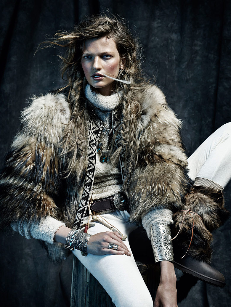 Photo Bette Franke by Toby Knott for Vogue Spain November 2014