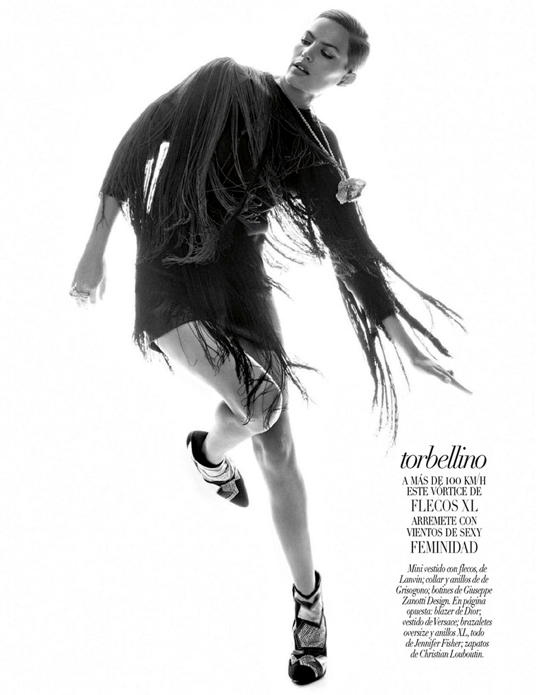 Photo Cameron Russell for Vogue Mexico October 2014