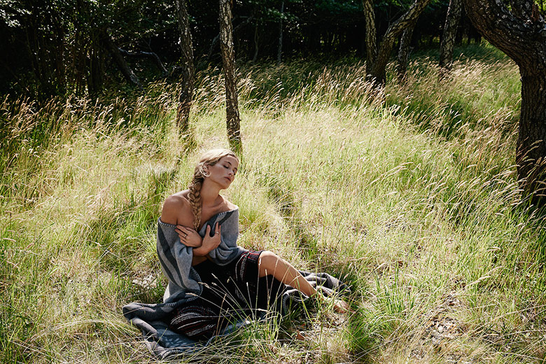 Photo Carolyn Murphy by Yelena Yemchuk for The Edit September 2014