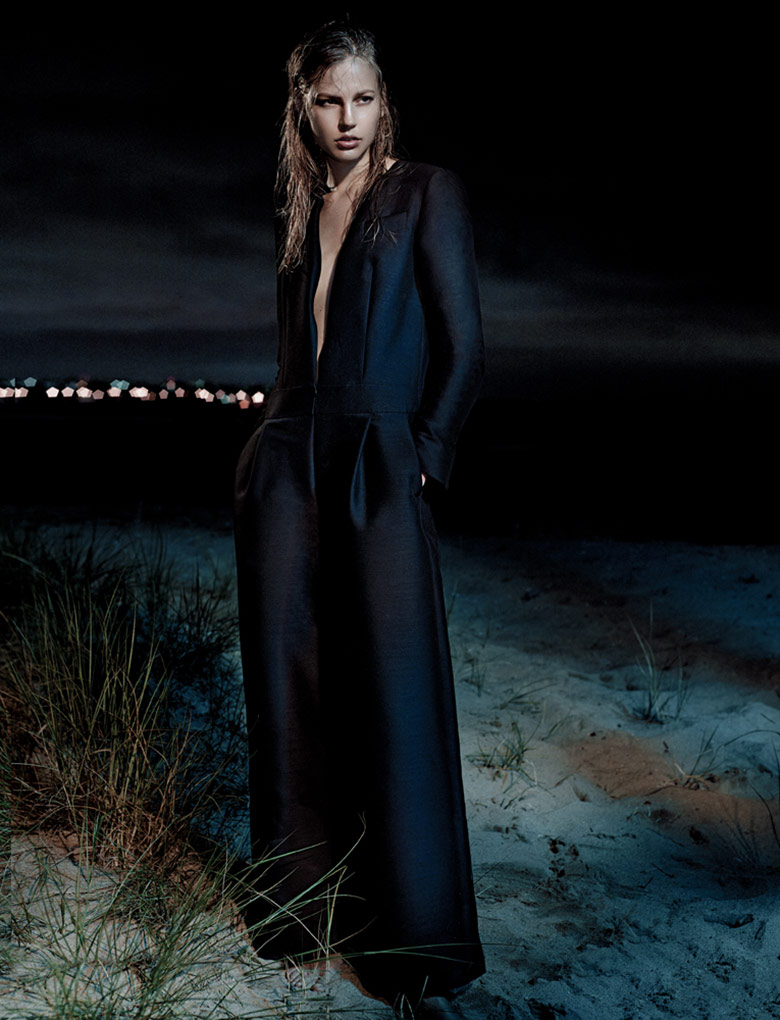 Photo Elisabeth Erm by Gregory Harris for Interview October 2014