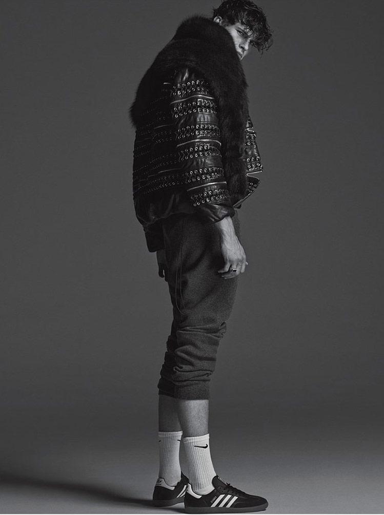 Photo John Todd by Hong Jang Hyun for Numero Homme China F/W 2014