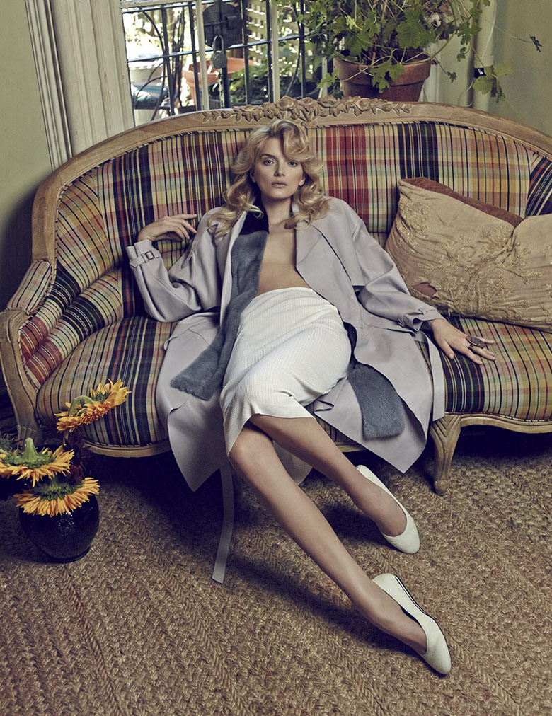 Photo Lily Donaldson for Harpers Bazaar Korea October 2014