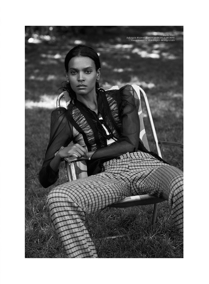 Photo Liya Kebede by Ward Ivan Rafik for Rika F/W 2014
