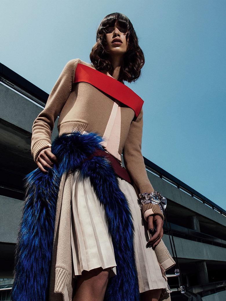 Photo Mica Arganaraz by Sebastian Kim for Vogue Spain November 2014