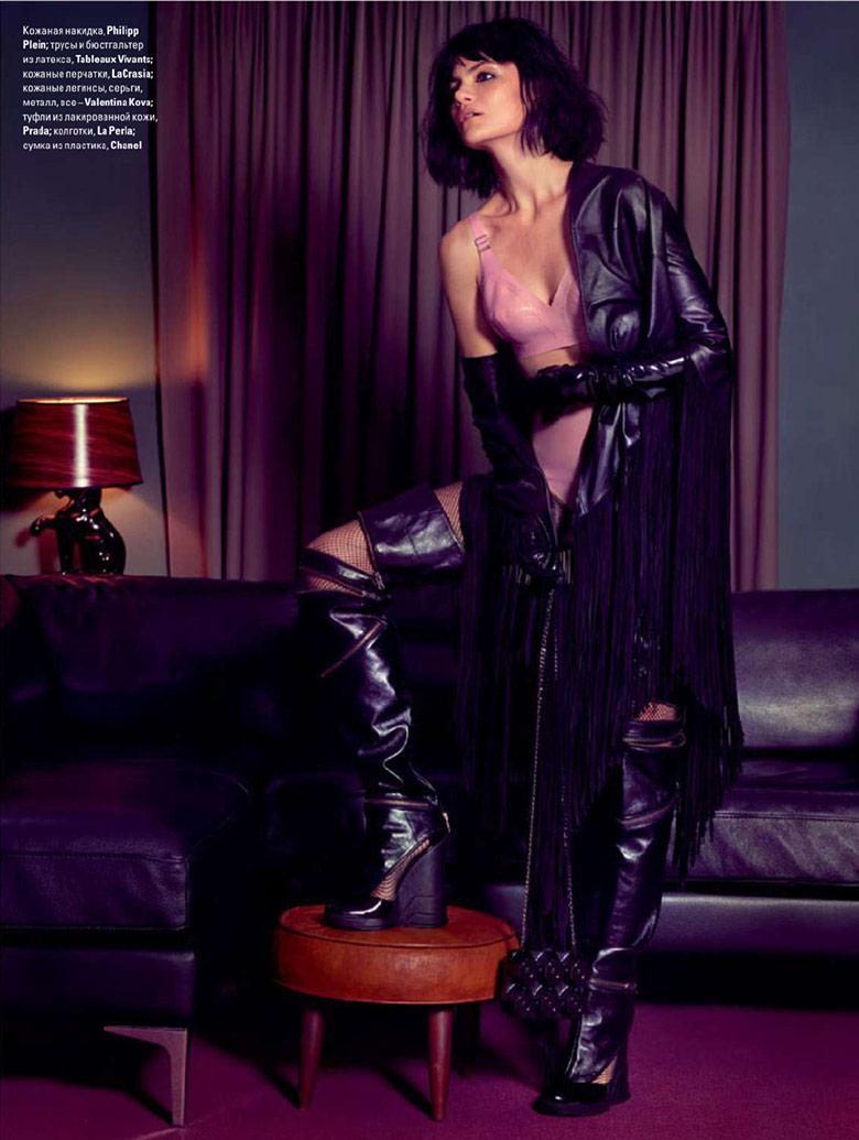 Photo Missy Rayder by Stockton Johnson for Vogue Ukraine November 2014